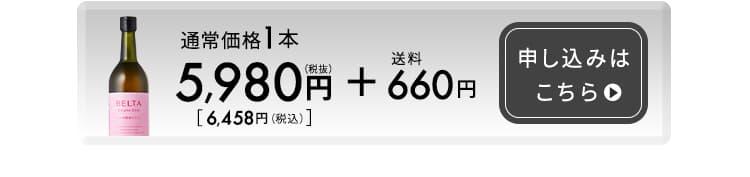 単品5,980円